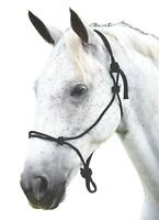 Roma Nylon Rope Halter for Everyday Use with Loop for Lead Attachment