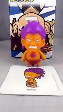 Kidrobot Street Fighter Series 2 Orange Purple Blanka 2/20