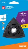 Imperial Blades  Starlock  3-1/8 in. Dia. Plastic  Oscillating Saw Sanding Pad