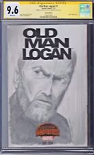 Old Man Logan # 1 CGC 9.6 Marvel SS Sketch Variant Remarked
