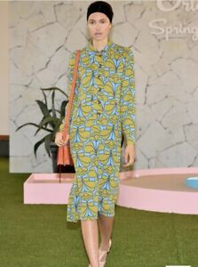 Orla Kiely Damask Flower Shirt Dress