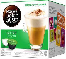 Nestle Japan Nescafe Dolce Gusto Soy Latte Flavor Capsules Pods 16P