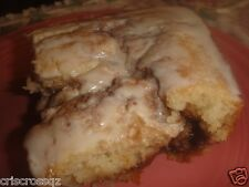 Homemade CINNAMON ROLL CAKE * Glazed * with sugar or sugar-free * from scratch
