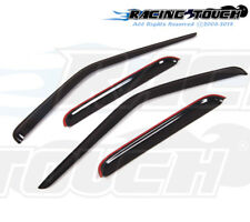 For Nissan Frontier Crew Cab 00-04 Dark Grey Out-Channel Visor Sun Guard 4pcs