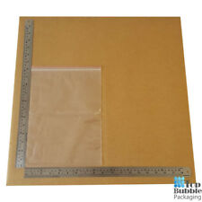 50um Resealable Bags 225x305mm - 1000pcs FREE SHIPPING Clear Plastic Reusable