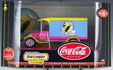 Matchbox Coca-Cola Holiday Vehicles #3 of 6 Easter 1926 Ford Model TT MIB 1999