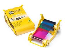 Zebra ZXP Series 3 Colour Ribbon YMCKO 200 Image - 800033-840
