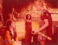 Elizabeth Taylor Roddy McDowall Vintage  4  X  5  TRANSPARENCY Cleopatra