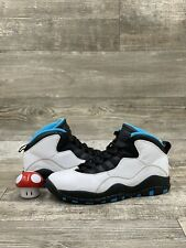 Nike Air Jordan X 10 Retro Powder Blue White Black UNC OG Sz 9 310805-106