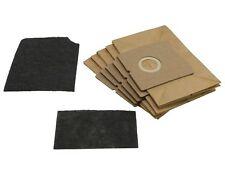 5 Jive Dust Bags + 2 Filters For Morphy Richards Vacuum Hoover Equiv' 73150000