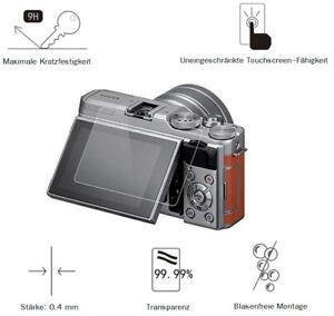 Fuji X-A5 0,4 mm Adhäsion Displayschutzglas Schutzfolie LC7646