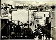 Cartolina Uri (Sassari) - Piazza Felice Alisa Viaggiata