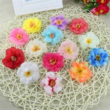 50 pcs Artificial Peony Heads - 5cm - Fabric Flower Petals Wedding Party Decor