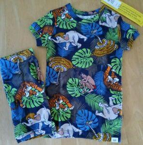 Baby Gap/Disney Boys Organic Cotton Jungle Book Themed Pajama Set/NWT/Size 4