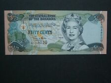 ***Fresh 50 Cents 'UNC' Bahamas Banknote*****