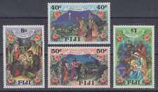 Fidschi-Inseln (Fiji) - Michel-Nr. 573-576 postfrisch/** (Weihnachten, Christmas
