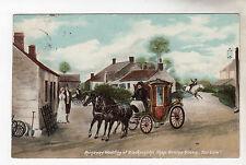 Runaway Wedding - Gretna Green Art Postcard 1906