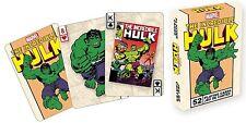Incredible Hulk set of 52 playing cards (nm)