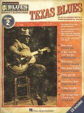 Learn to Play Texas Blues Alto Tenor Saxophone Sax Trumpet Music Book 2 CD
