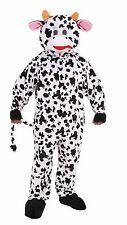 DELUXE PLUSH COW MASCOT ADULT HALLOWEEN COSTUME STANDARD SIZE ALWAYS FUN