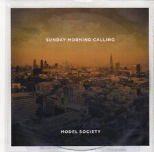 (DL421) Sunday Morning Calling, Model Society - DJ CD