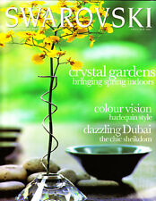2001 Swarovski Collector Magazine April/May 25 years Swarovski starting 1976