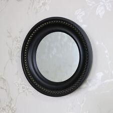Miroirs rustiques noirs noirs pour la décoration intérieure