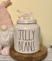 New RAE DUNN Easter JELLY BEANS  Canister Cookie Jar By Magenta LL NEW