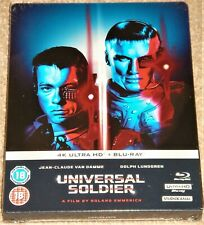 Universal Soldier Limited Edition Steelbook 4K Ultra HD / WORLDWIDE SHIPPING