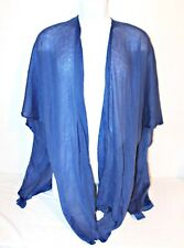 Womens Knit Open Front Loose Cardigan Poncho Acrylic Cape Wrap Shawl Beach Cover
