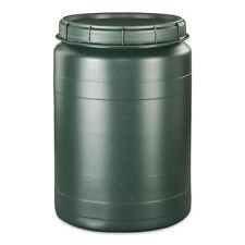 60 L grün Fass Behälter Kunststoff Tonne Kunststofffass Plastiktonne Neu.