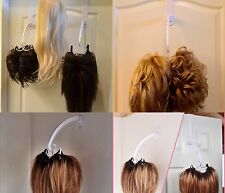 Goodbye Wig Stands and Styrofoam heads! Hello Discreet, Space Saving Wig Storage