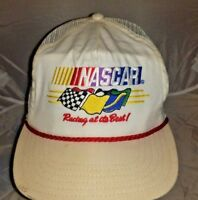 RARE Vintage NASCAR Racing at its Best! Snap Back Hat Cap 80's A3