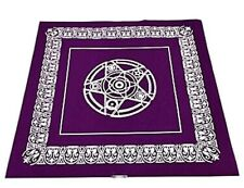 49 X 49 Cm Púrpura Tarot no ~ Tejido Mantel libre de Reino Unido P&p []