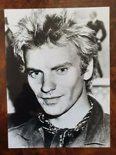Sting - The Police -  Promo Photo