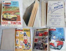 TINTIN  RELIURE/RECUEIL GéANT (FRA)  N°  48   1960/1961   Dos Absent sinon BE+