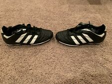 NEW Adidas Youth Kids Quito TrX Lalas 1AB Soccer Cleats Shoes Black White SZ 3.5