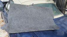 BMW E36 Z3 OEM TRUNK Floor MAT Carpet  Roadster Convertible Spare TIRE Cover