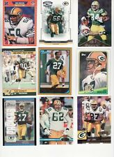 GREEN BAY PACKERS 100 CARD LOT NO DOUBLES *HOT & CHEAP HARD TO PUT TOGETHER