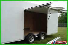 IN STOCK ATC Raven 8.5 X 24 Aluminum Enclosed Car Hauler Cargo Trailer