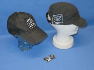 2x Jack Daniels Cap Baseball Cap Mütze + 5er Button Set zum Anstecken