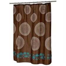 Hanover Fabric shower curtain, 100% polyester 70x72, color brown FSC-HAN/13 NEW