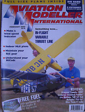 Aviation Modeller International - February 2000 Complete with Unused Plan
