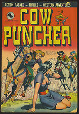 Cow Puncher #3 Photocopy Comic Book, Fiery Riders