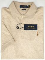 Polo Ralph Lauren Lt Tan Short Sleeve Shirt Mens Classic Fit Cotton NWT NEW $89
