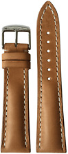 22x20 RIOS1931 for Panatime Sand Vintage Watch Strap w/Buckle for Breitling