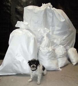 PP- Gewebesäcke  Getreidesack  Laubsack Sack    Hier alle Größen zum auswählen