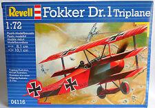 1:72 REVELL - FOKKER Dr. 1 TRIPLANE- REF. 04116 - WWI - NUOVO SIGILLATO