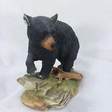 Andrea Sadek Black Bear by Andrea Porcelain Figurine #5620 Vintage Made In Japan