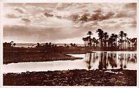 CAIRO EGYPT EVENING ON THE NILE~LEHNERT & LANDROCK PHOTO # 47 POSTCARD